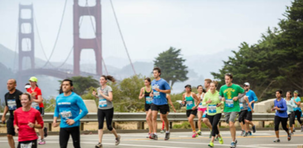 Training for the 2017 San Francisco Marathon, HM, 5k, or Ultra