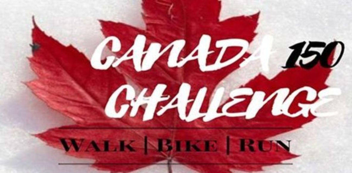 Canada 150 Challenge Walk Run Bike