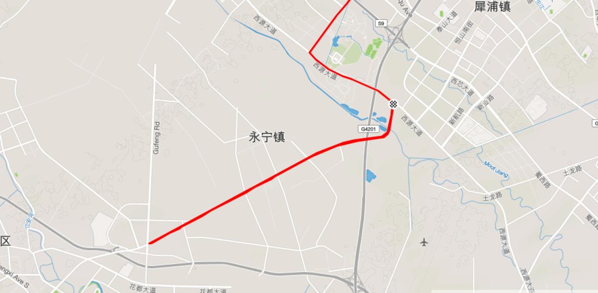 芙蓉大道7公里
