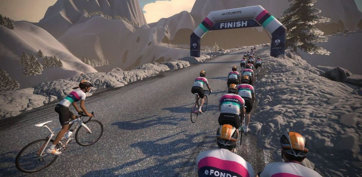 Zwift Winter Rides