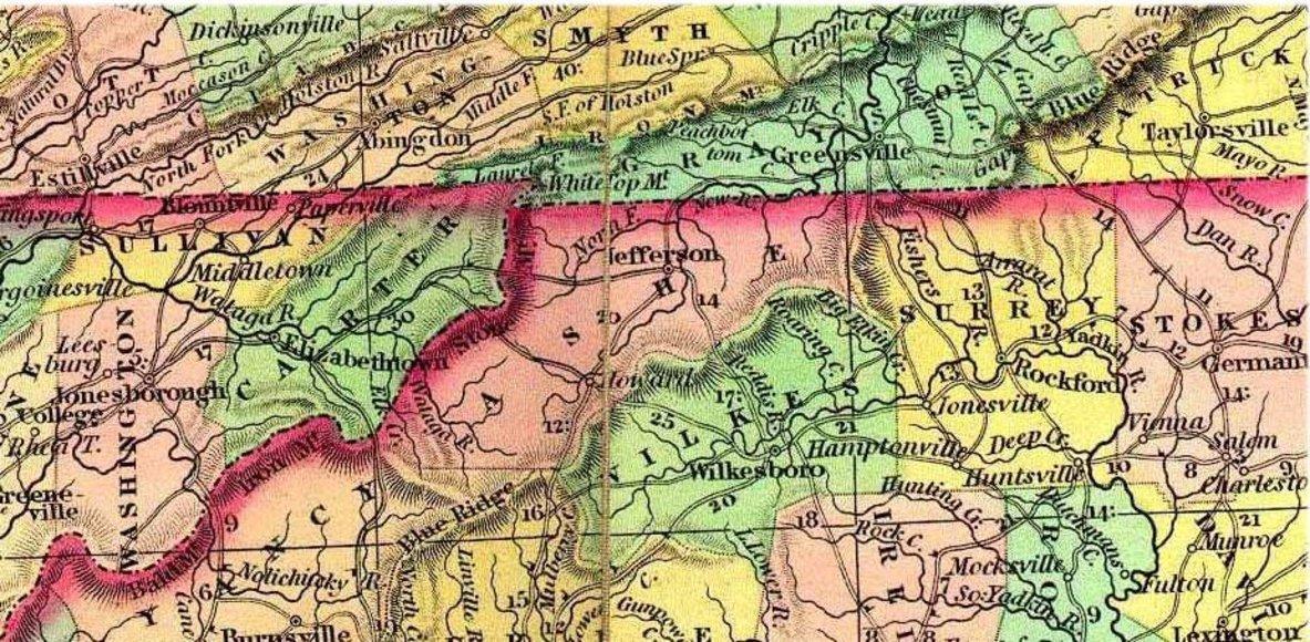 Yadkin Valley and Blue Ridge Trails