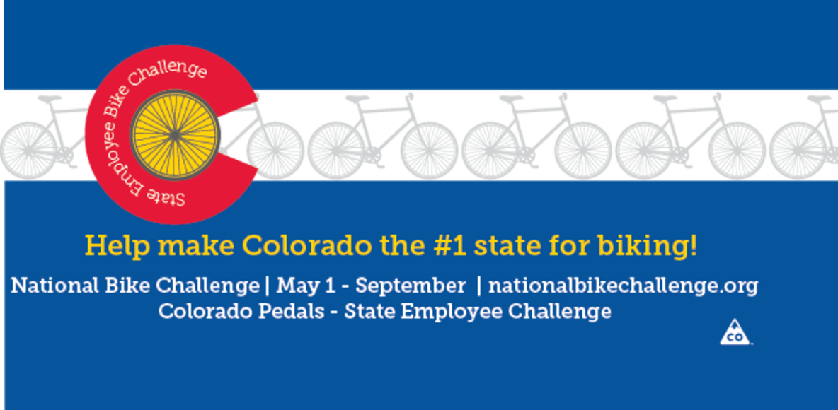 Colorado Pedals - State Employee Challenge - National Bike Challenge