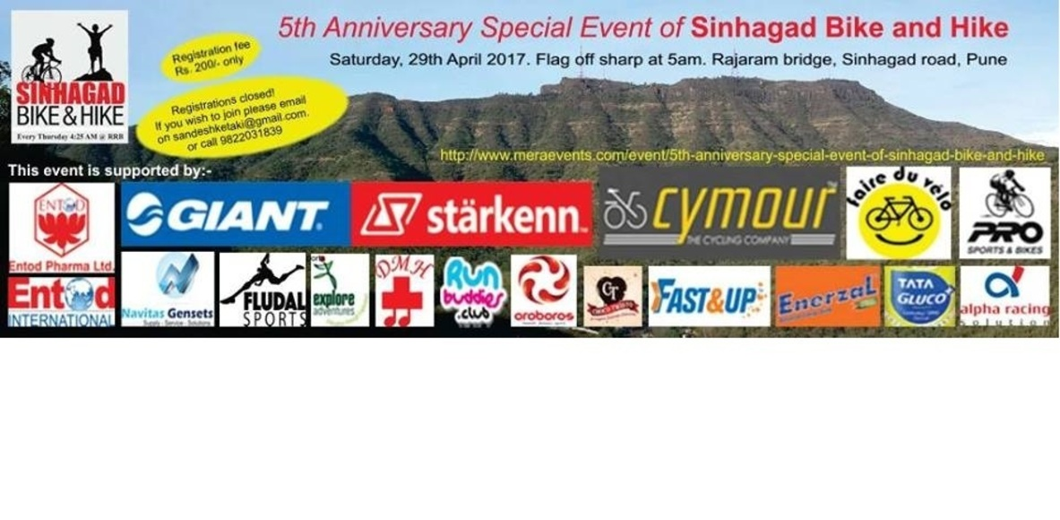 Sinhagad Bike and Hike (Pune)