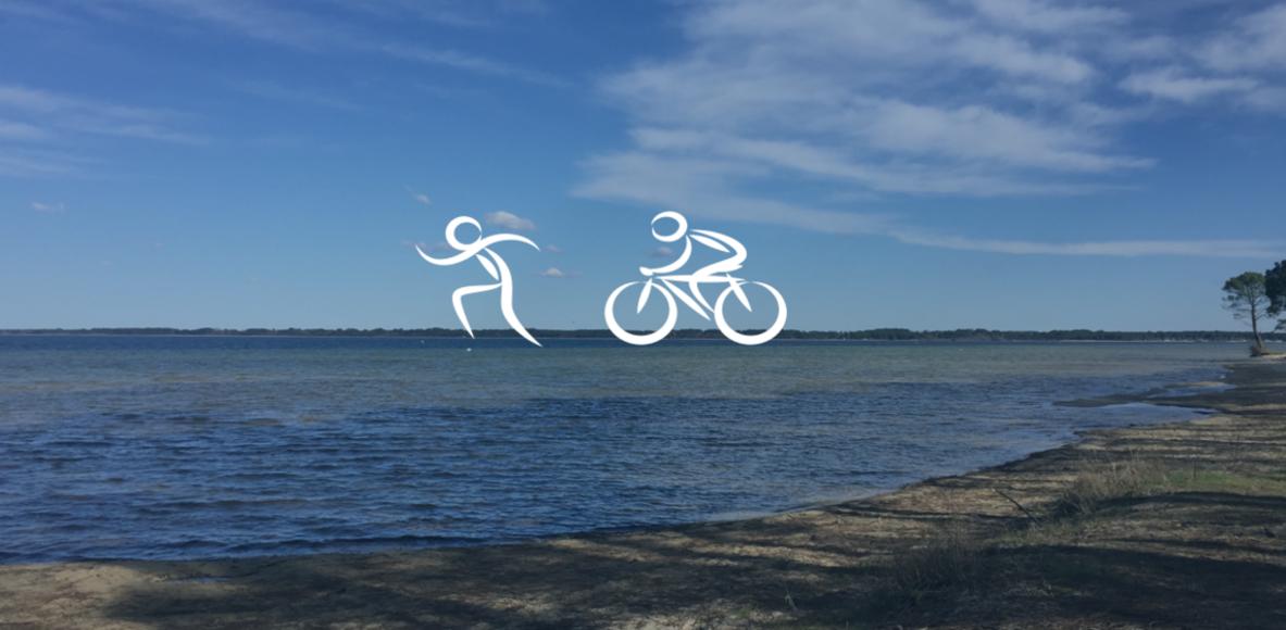Sorties Running  Vélo à Biscarrosse