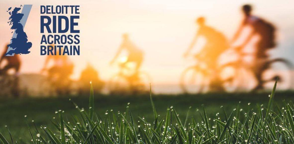 TeamVodafone Ride Across Britain 2017