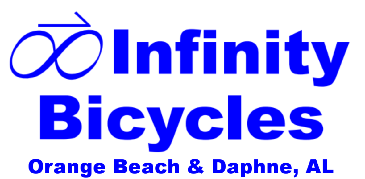 Infinity Bicycles -Daphne -Mobile -Orange Beach, AL - Hattiesburg, MS