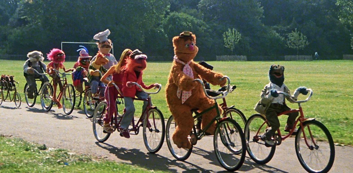 Muppets on Bikes