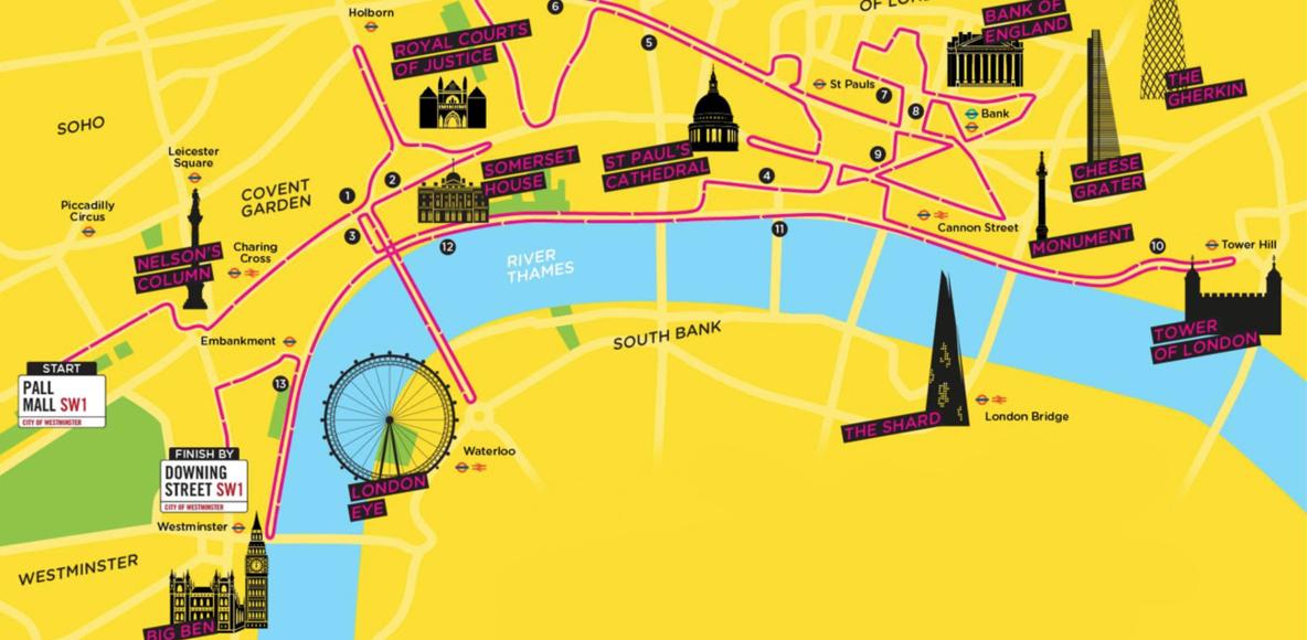 London Landmarks Half Marathon.