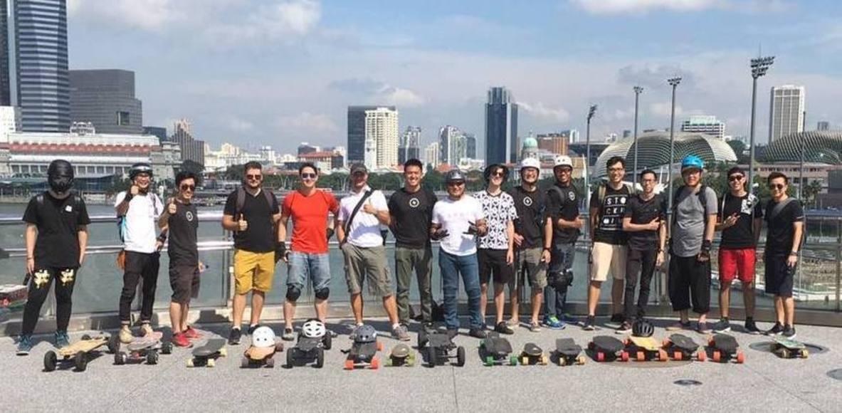 Singapore Electric Skateboards