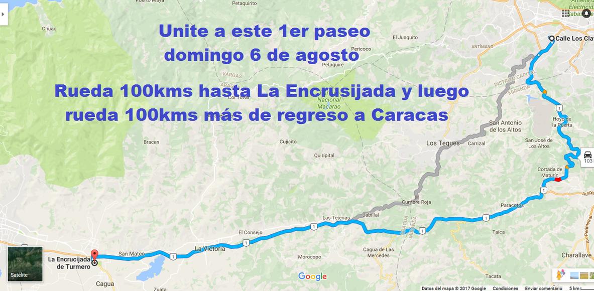 1er paseo Caracas La Encrusijada - La Encrusijada Caracas