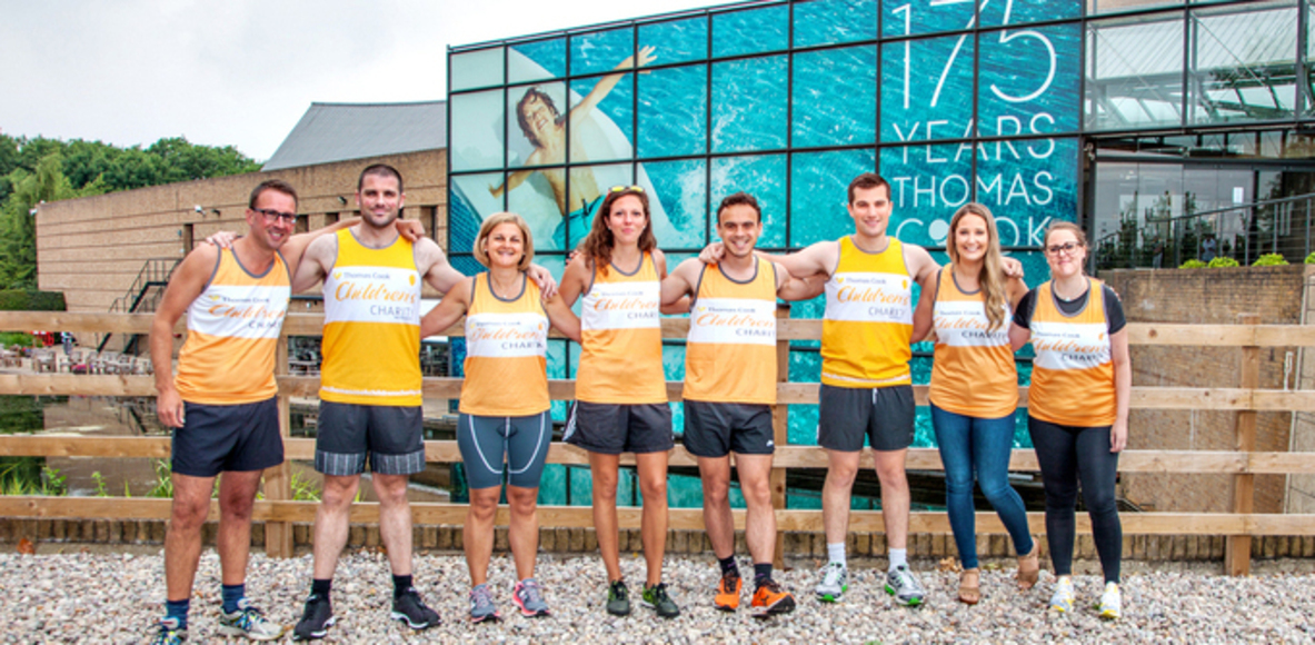Team Thomas Cook - Great Eastern Run 2017 Challenge
