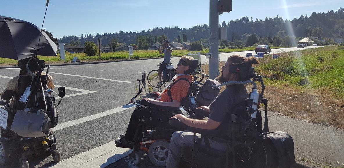 Wheelchairing across Washington