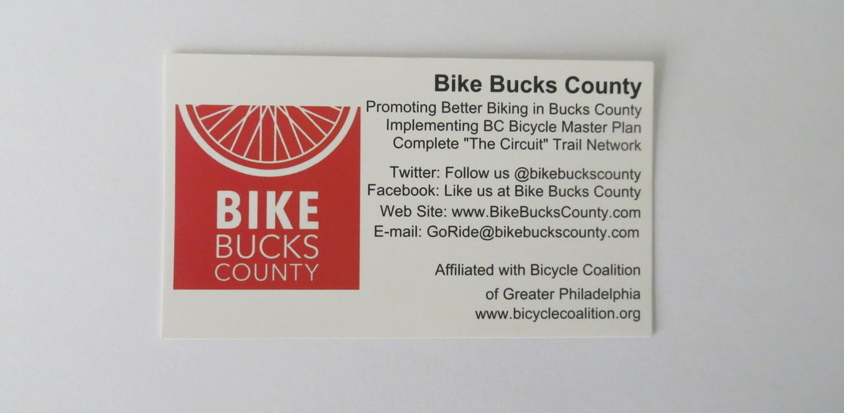 Bike Bucks County