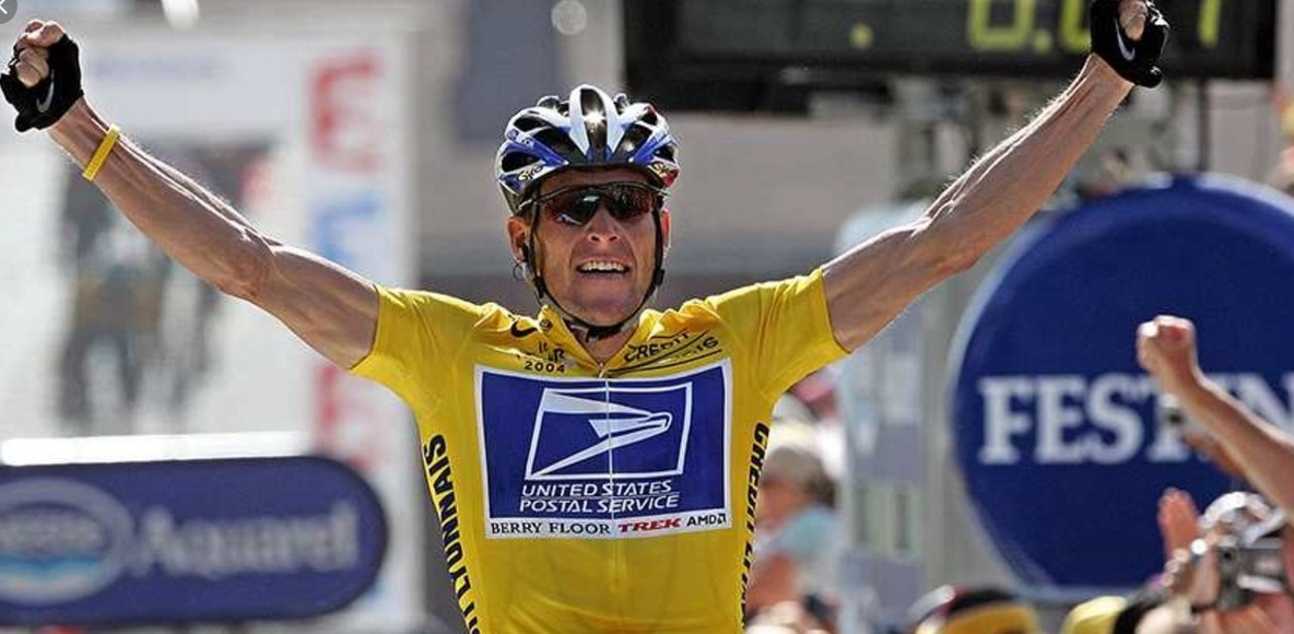 Fan de lance Armstrong