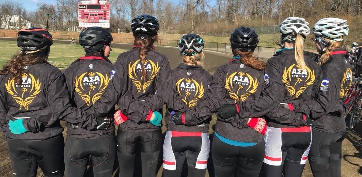 Alpha Sigma Alpha Bike Team