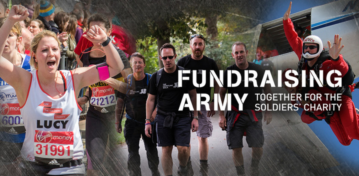 The Soldiers' Charity - Fundraising Army!