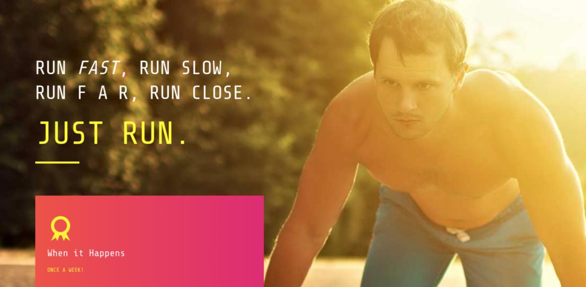 Simpul | Running