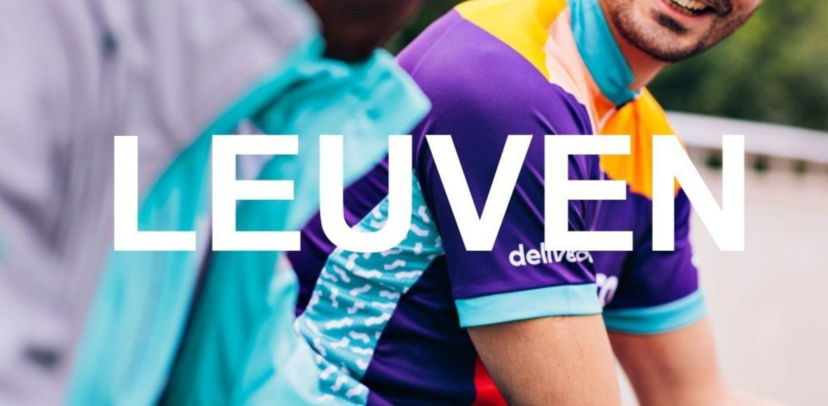 Deliveroo riders Leuven