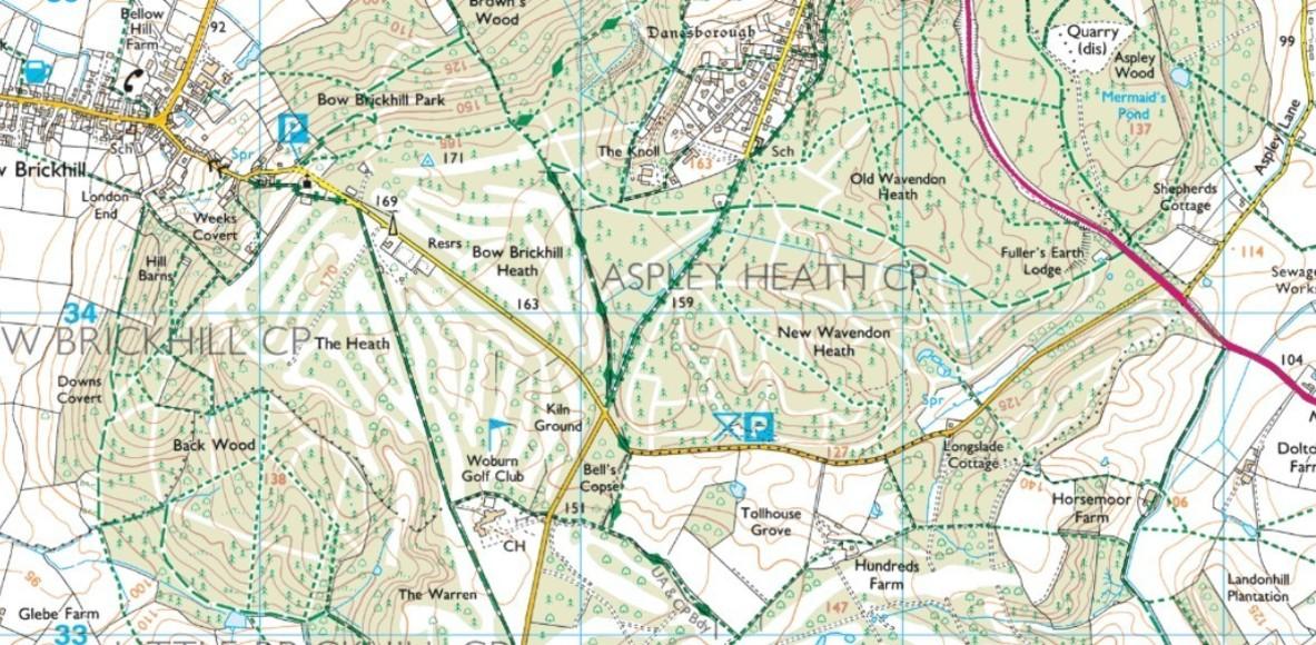 Bow Brickhill trail runners