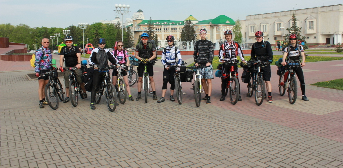 Велотуризм Белгород