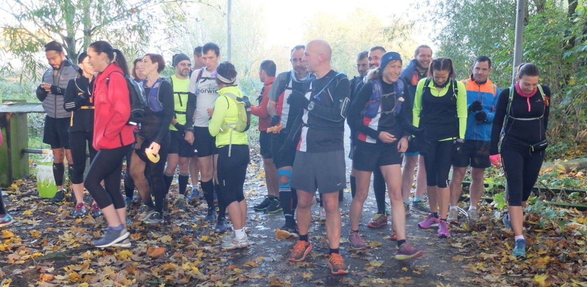 Norwich Road Runners Ultra and marathon training group
