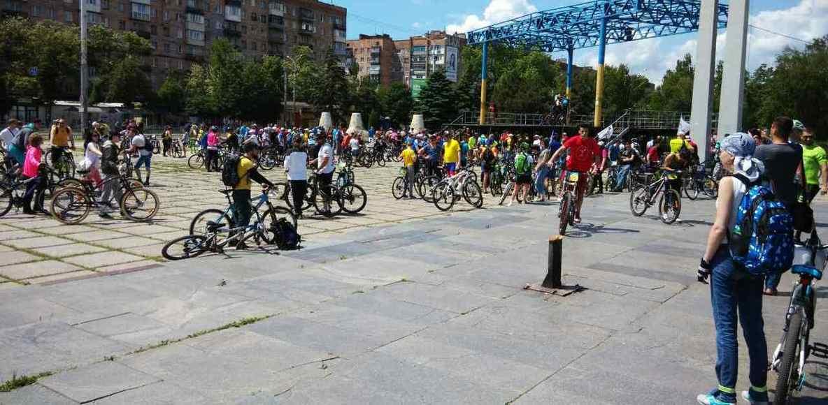 Новички велосипедисты