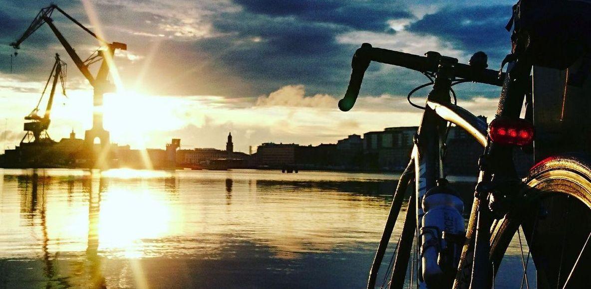 Cykelpendlare i och omkring Göteborg