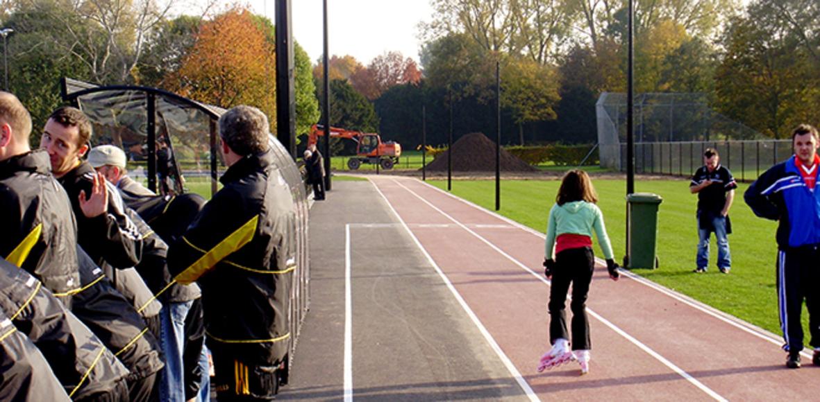Sportpark west Maastricht lopers