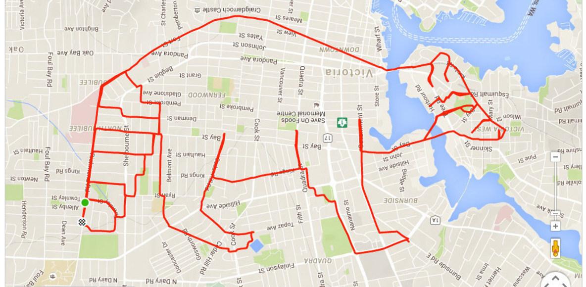 CSB GPS Art