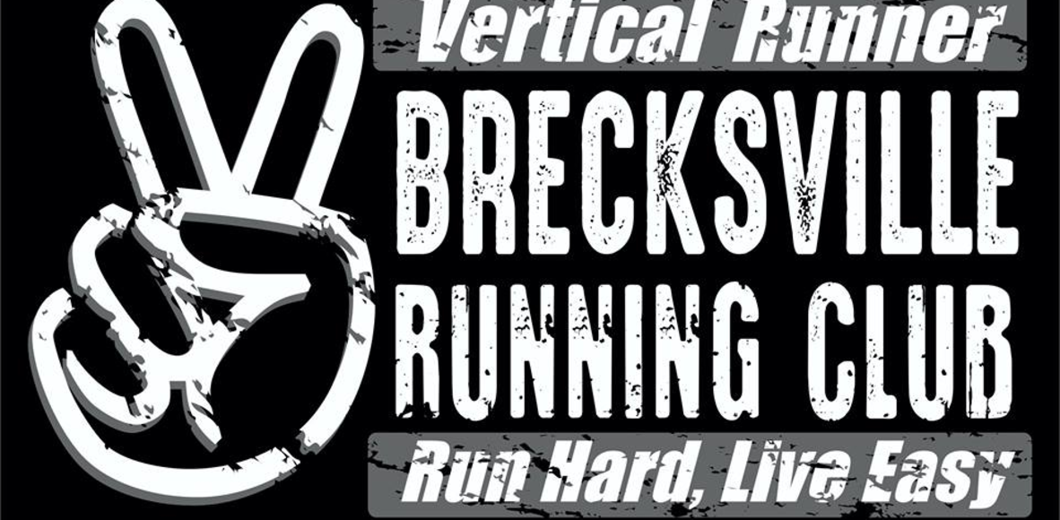 Vertical Runner BRECKSVILLE Running Club