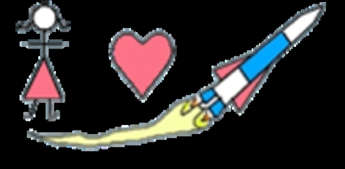 Girls Heart Rockets
