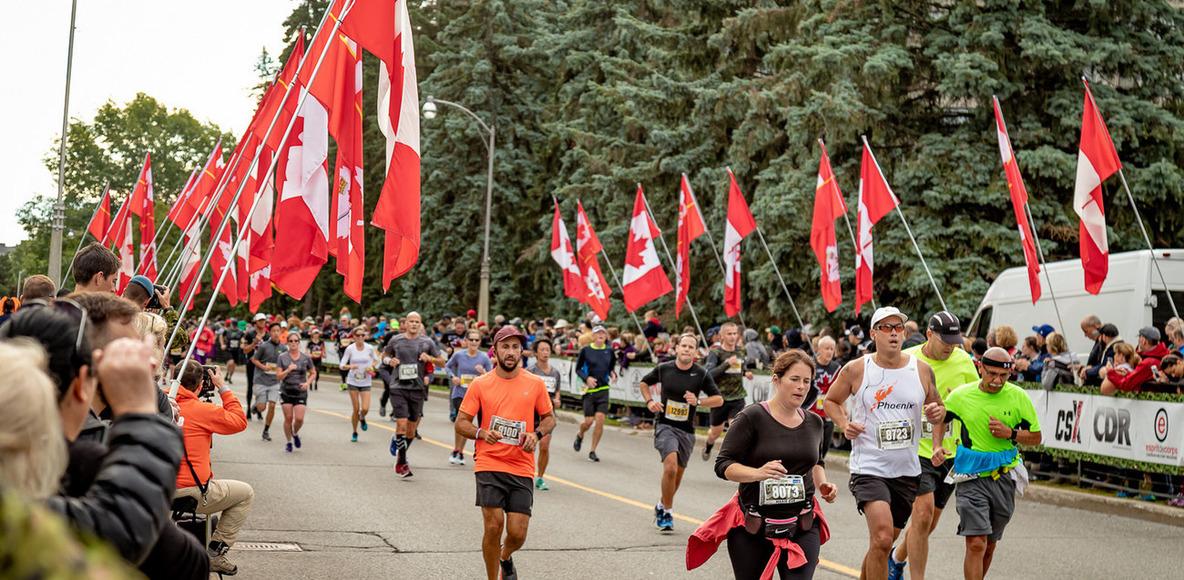 Canada Army Run  Course de l'Armée du Canada