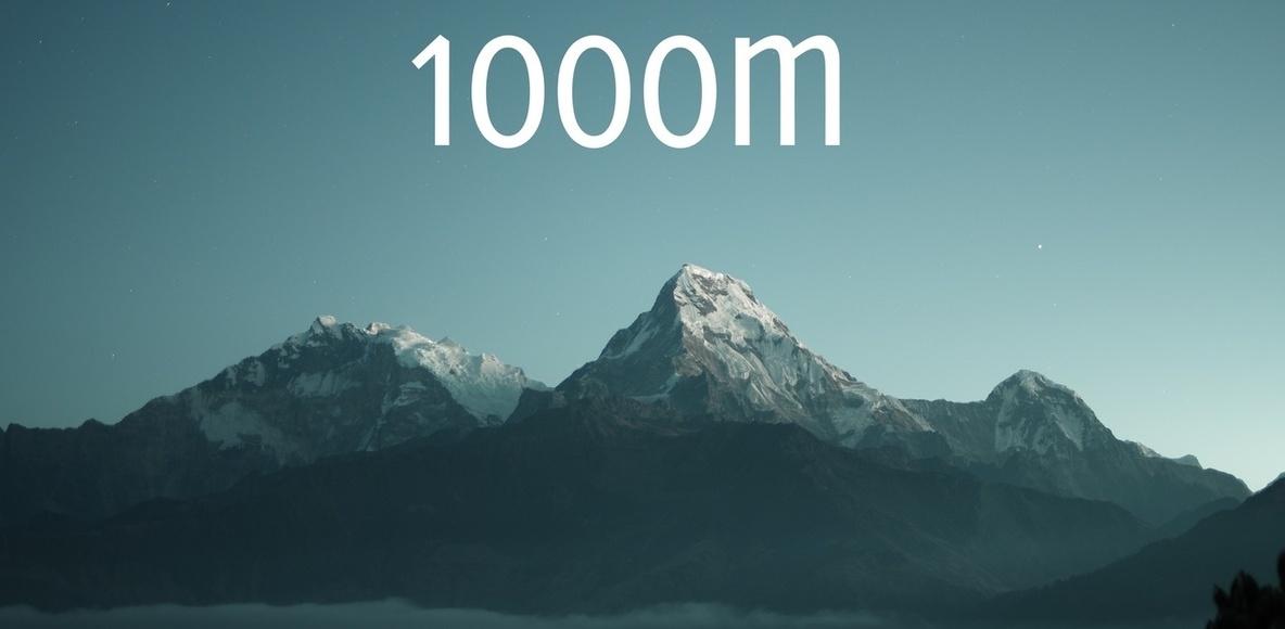 1000 Mile Challenge 2018