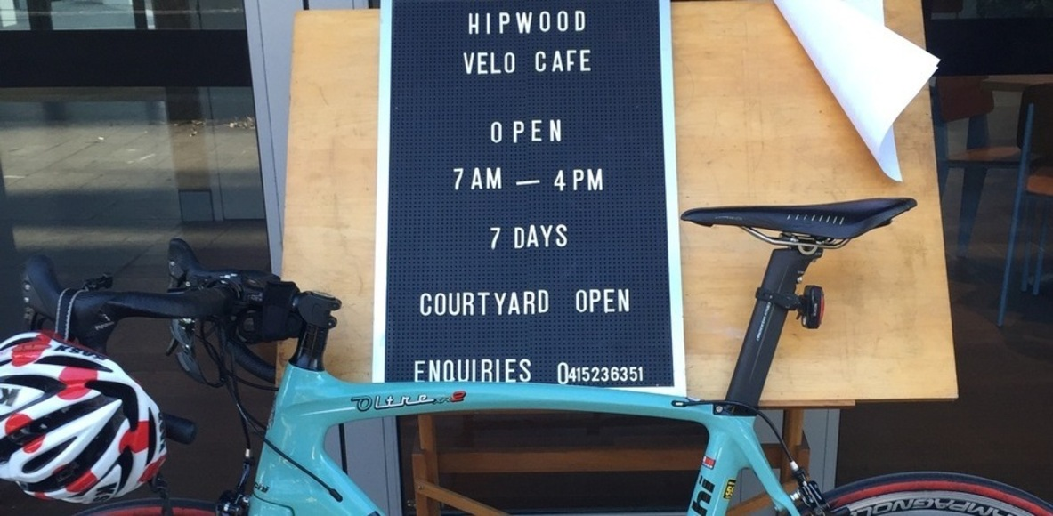 HIPWOOD VELO CAFE CYCLING CLUB
