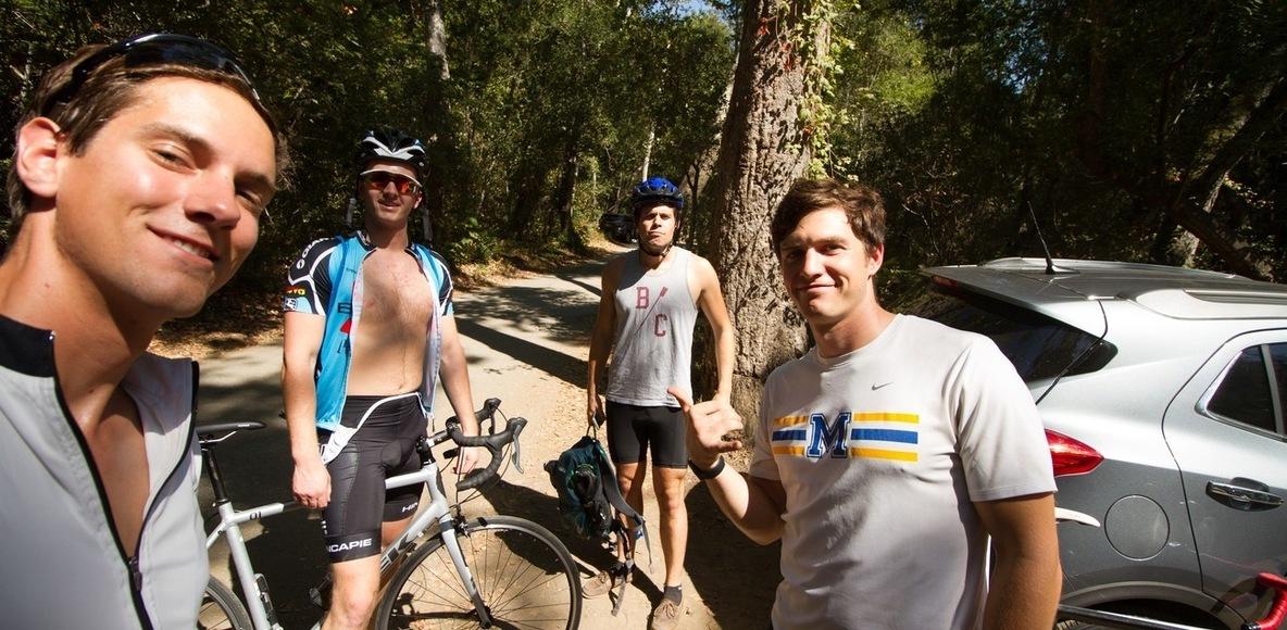 Blue Biker Gang