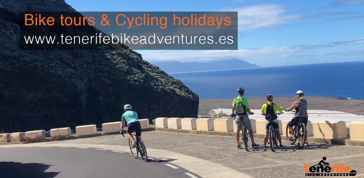 Tenerife Bike Adventures    www.tenerifebikeadventures.es