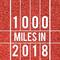 Run 1000 Miles in 2018