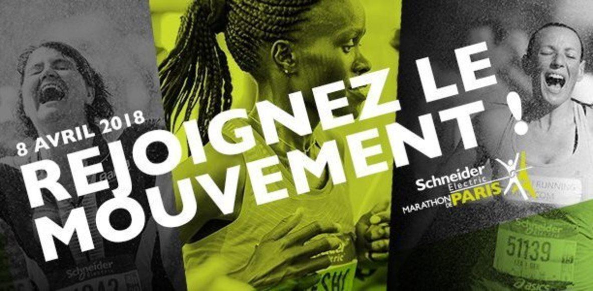Paris Marathon Girls