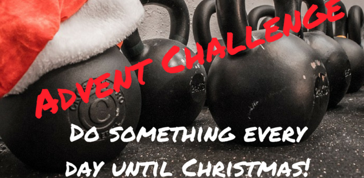 Ray Morgan PT Advent Challenge in association with Torfaen Leisure Trust
