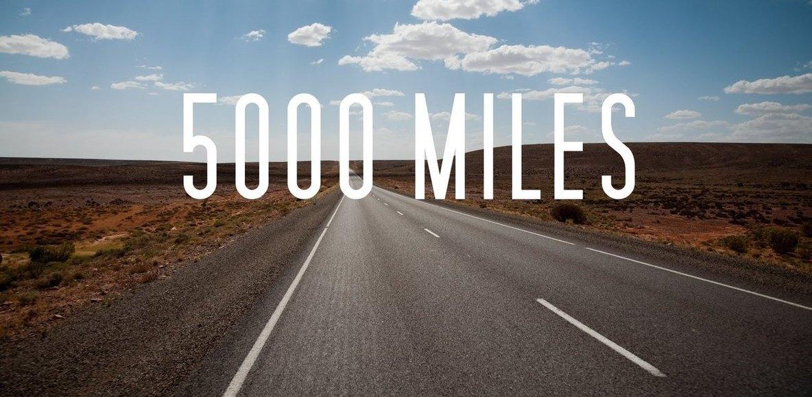 5000 Miles Challenge 2019