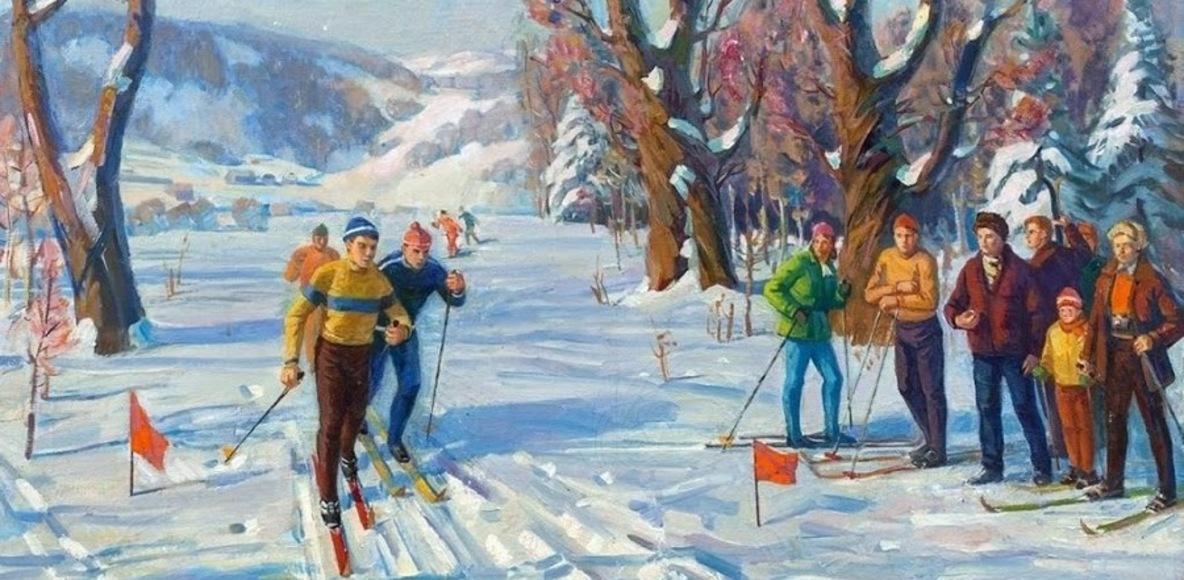 Беговые лыжи Cross-country skiing