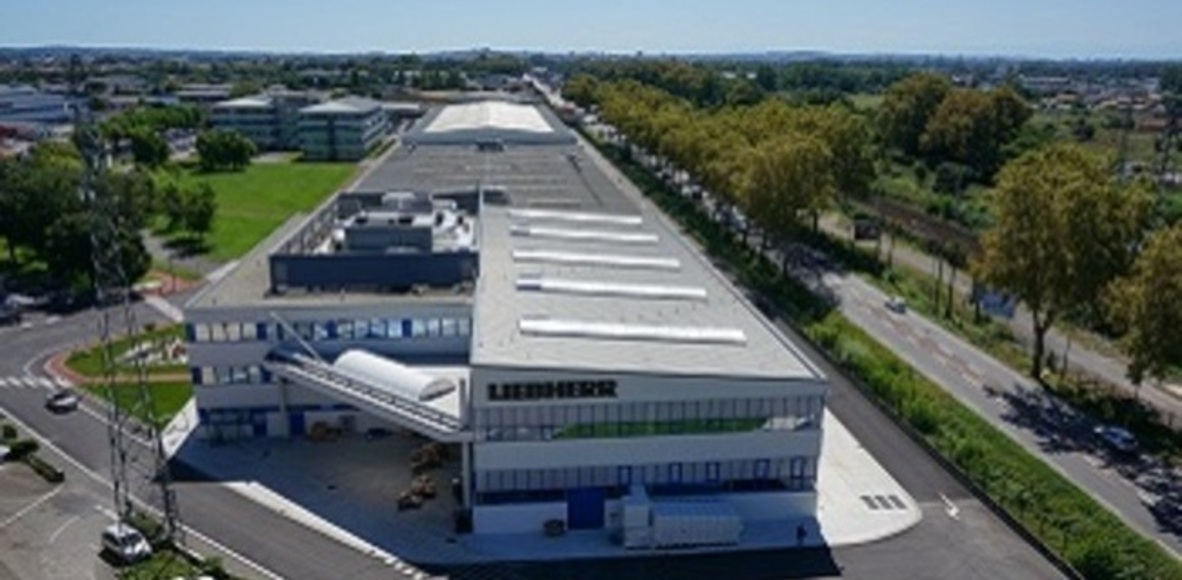 Liebherr Aerospace Toulouse running