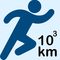 1000 km in 2018