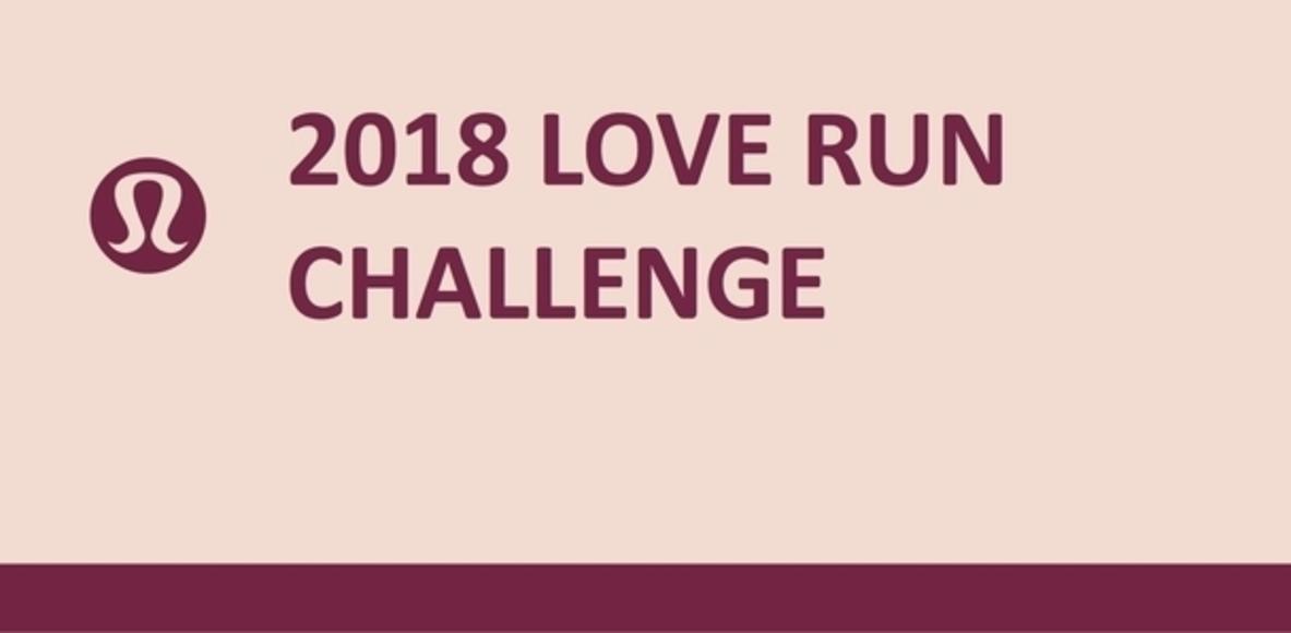 2018 Love Run Challenge