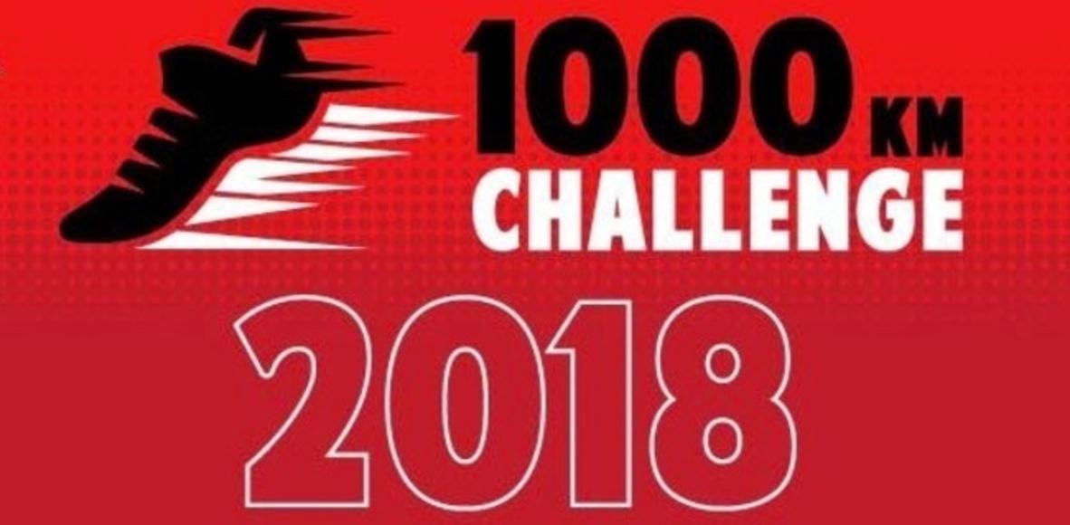1000 km en 2018