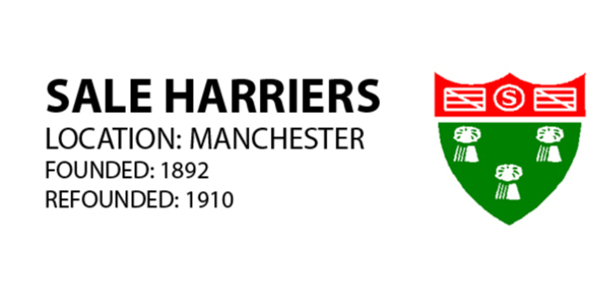 Sale Harriers Junior section.