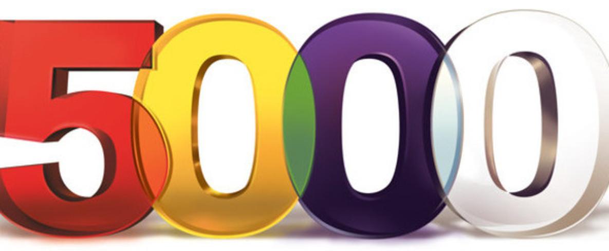 5000K in 2018