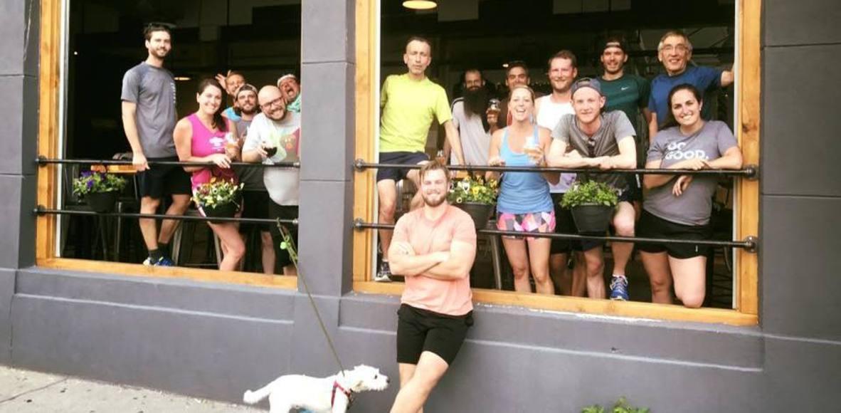 Alpine Dog Brewery Tuesday Run Club