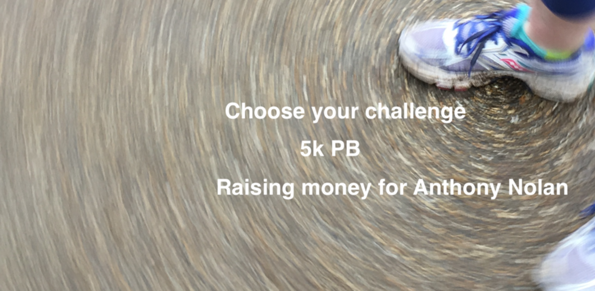 Choose your challenge - 5k PB