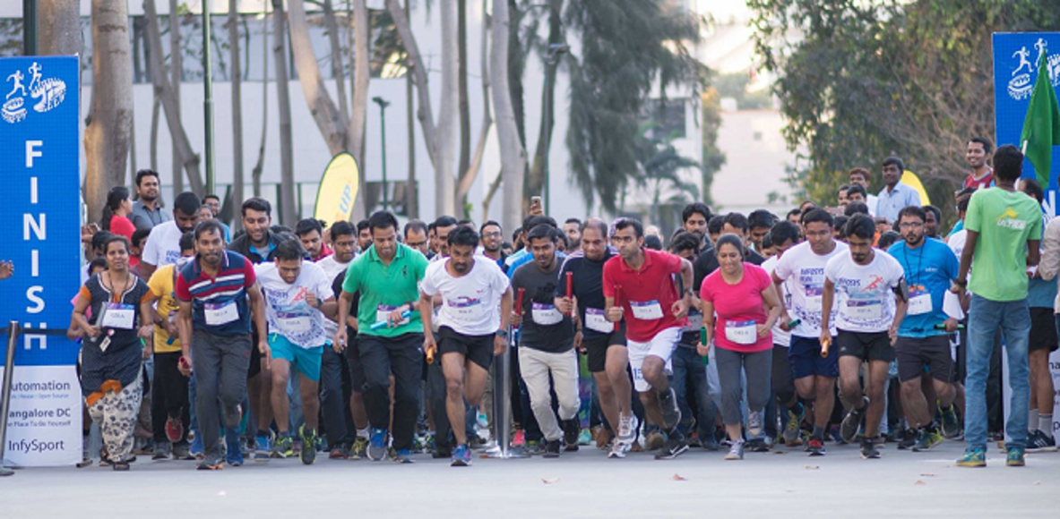 HappyFeet - Infosys Bangalore DC Running Club
